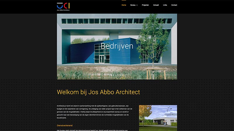 Website Jos Abbo Architect